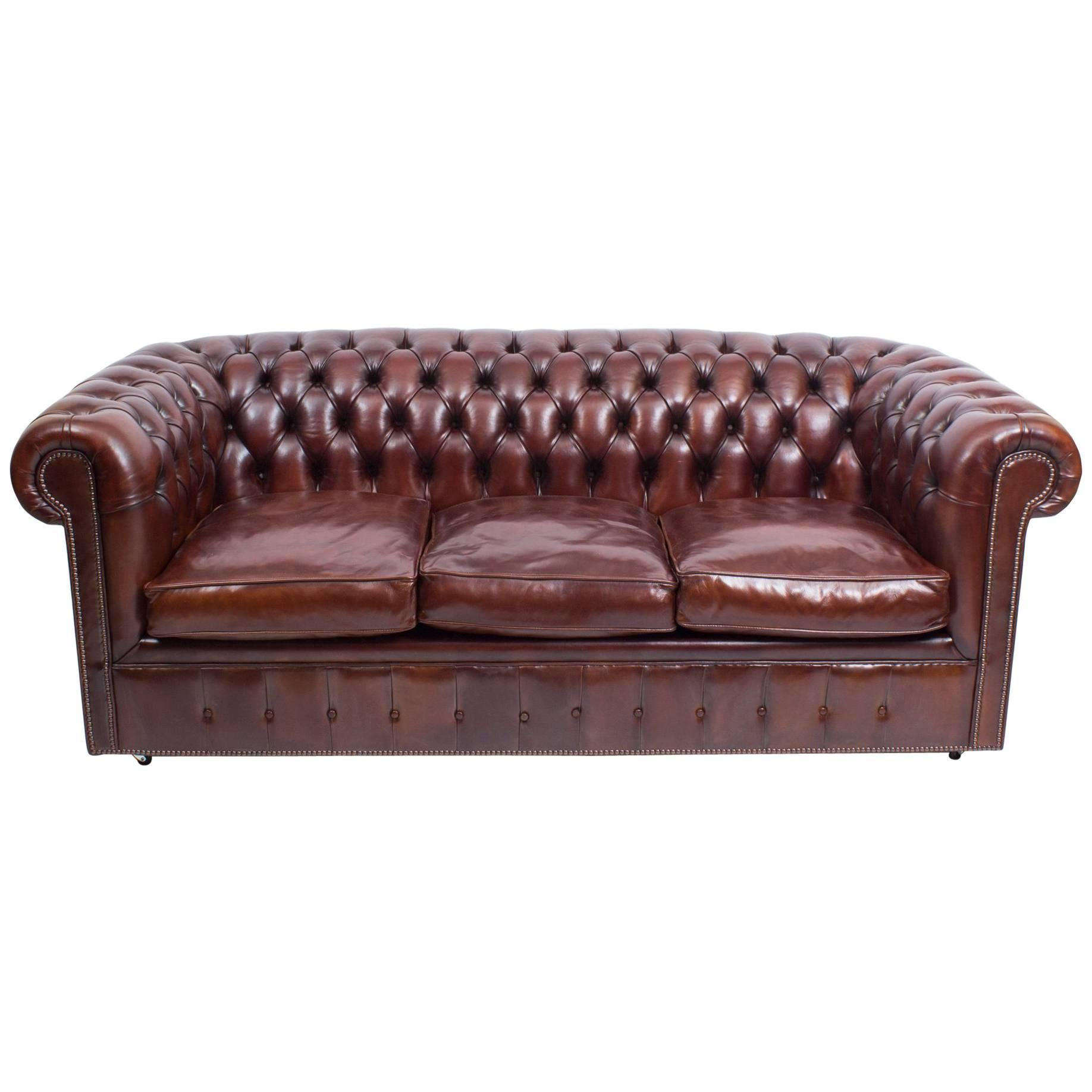 Leather Bespoke Bbo Bed Chesterfield English Sofa N8XwkZOn0P