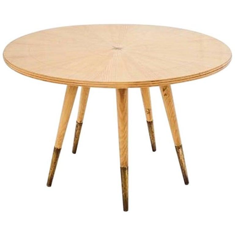 Gio Ponti, Beautiful Round Table, 1950