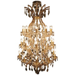 Large Maria Therese Chandelier with 31 Lights, 21st Century