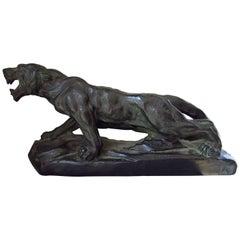Art Deco Sculpture Panther, France, 1935