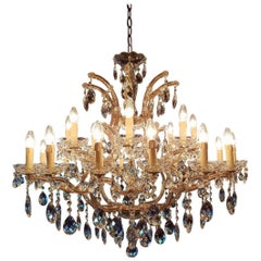 Large New Maria Therese Chandelier with 24 Lights