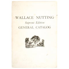 Wallace Nutting General Catalogue, Supreme Edition