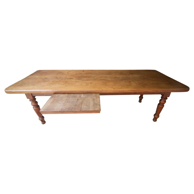 Early 19th Century Large French Farm Table from Normandie