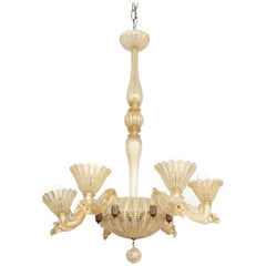 Barovier & Toso Chandelier Made in Venice, 1935