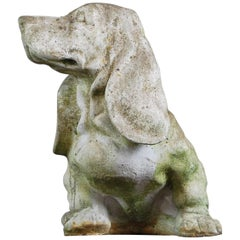 20th Century Cast Bassett Hound Statue