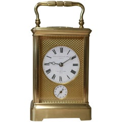 Fine Striking Carriage Clock by Drocourt