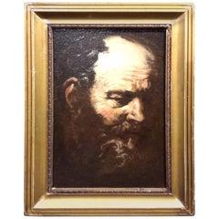 Antique Old Master Portrait Painting