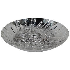 Kirk Sterling Silver Modern Fruit Bowl