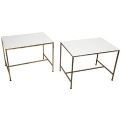 Paul Mccobb Directional Glass Tables
