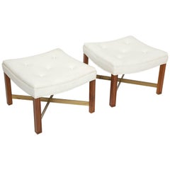 Paul Laszlo Cross-Stretcher Stools