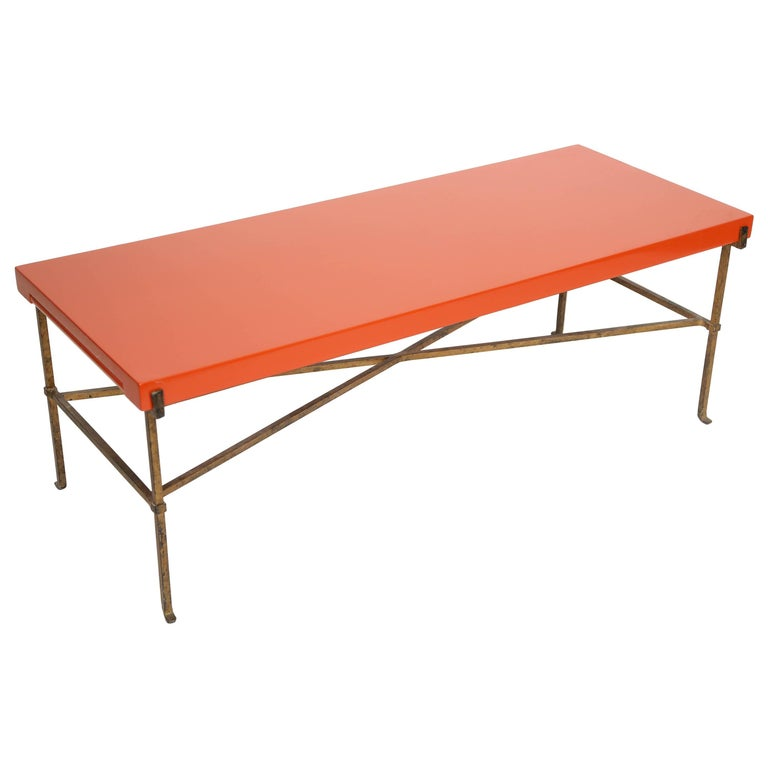 Tommi Parzinger Expanding Coffee Table