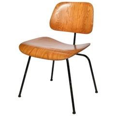 Early Charles & Ray Eames for Herman Miller DCM Chair in Oak, 1953