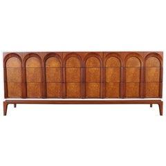 Mid-Century Modern Walnut Dresser by Thomasville