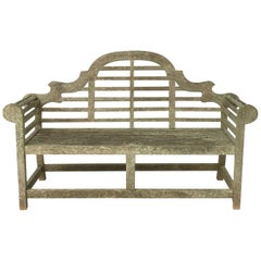 Lutyens Style Garden Bench Seat of Teak from England