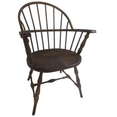 Windsor Chair from Philadelphia Library in Steel by Canton Art Metal Company