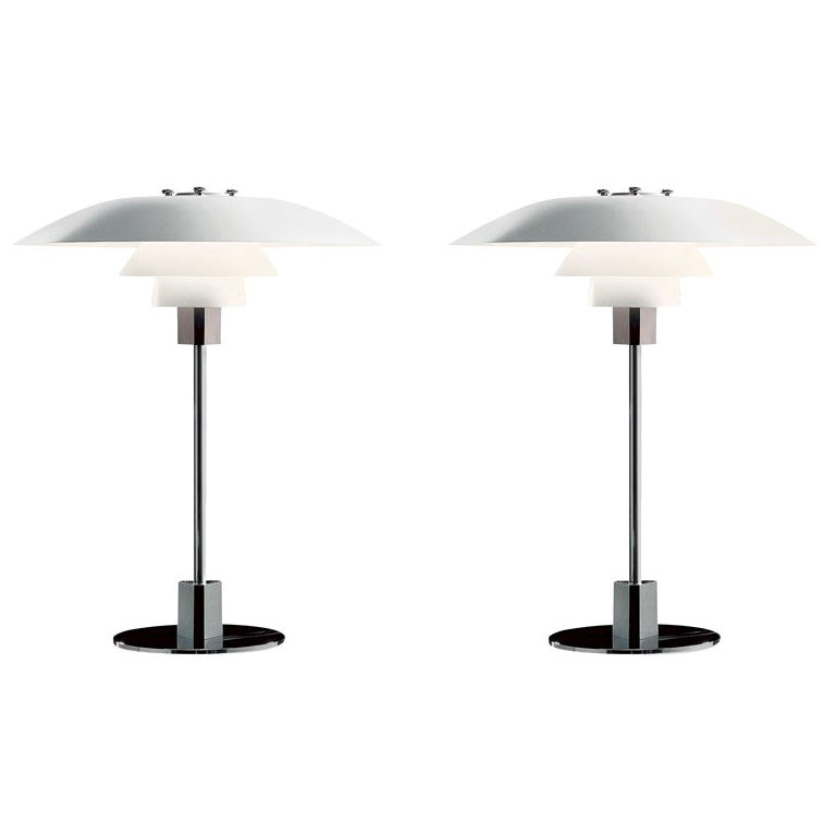 Poul Henningsen PH 4/3 Table Lamp for Louis Poulsen