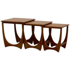 "Teak Nesting Tables ""Model Astro"" from G-Plan, 1960s"