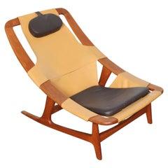 Arne Tidemand-Ruud 'Holmenkollen' Adjustable Lounge Chair for Norcraft, Norway