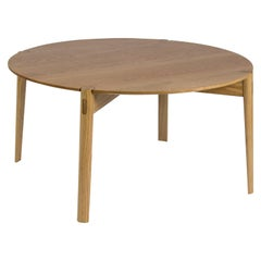 Nora Coffee Table 'Danish Style Solid Oak Table'