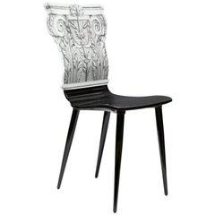 Fornasetti Chair Capitello Corinzio