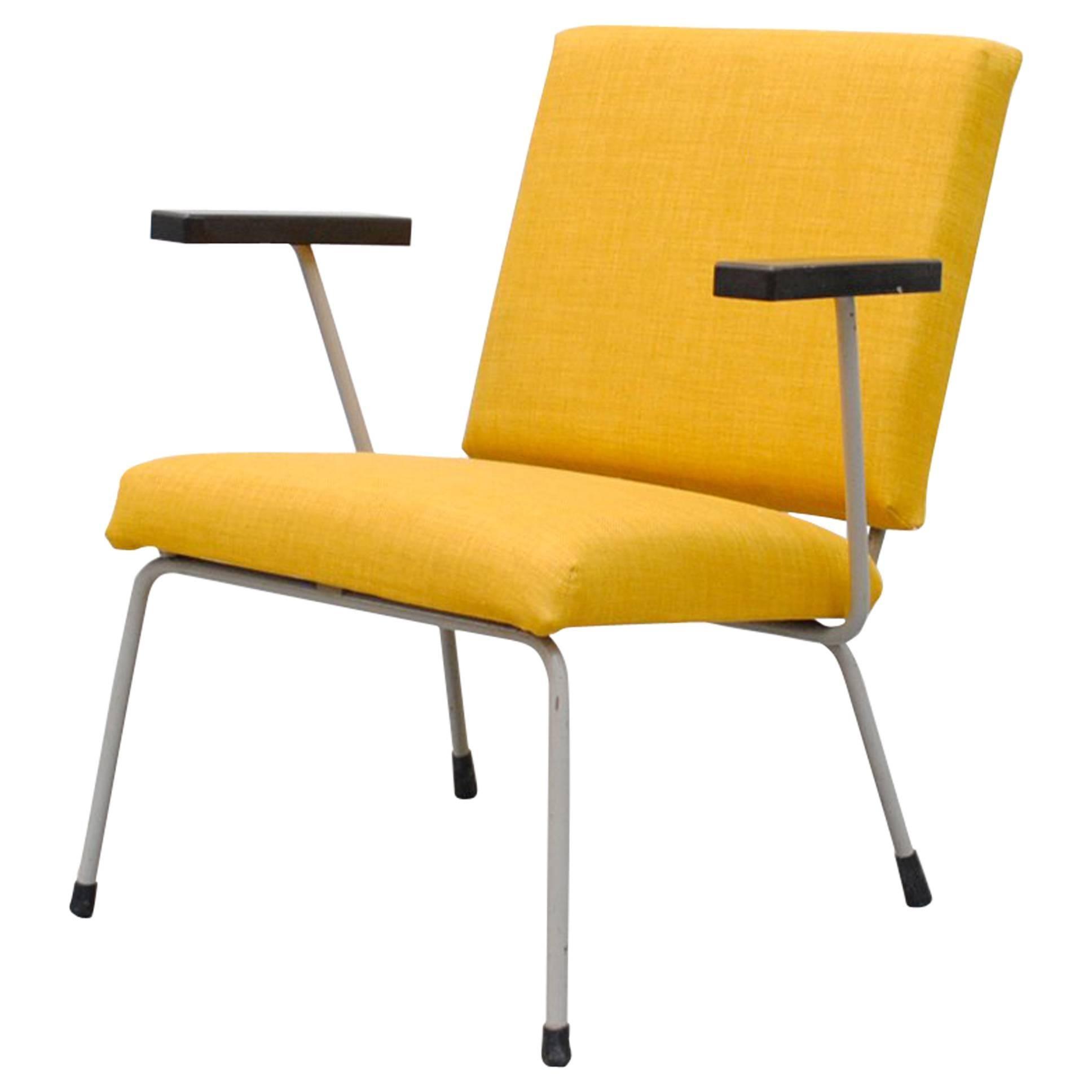 Wim Rietveld 1401 Lounge Chair for Gispen