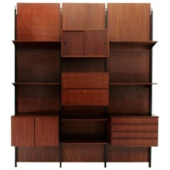 Italian Rosewood Wall Unit