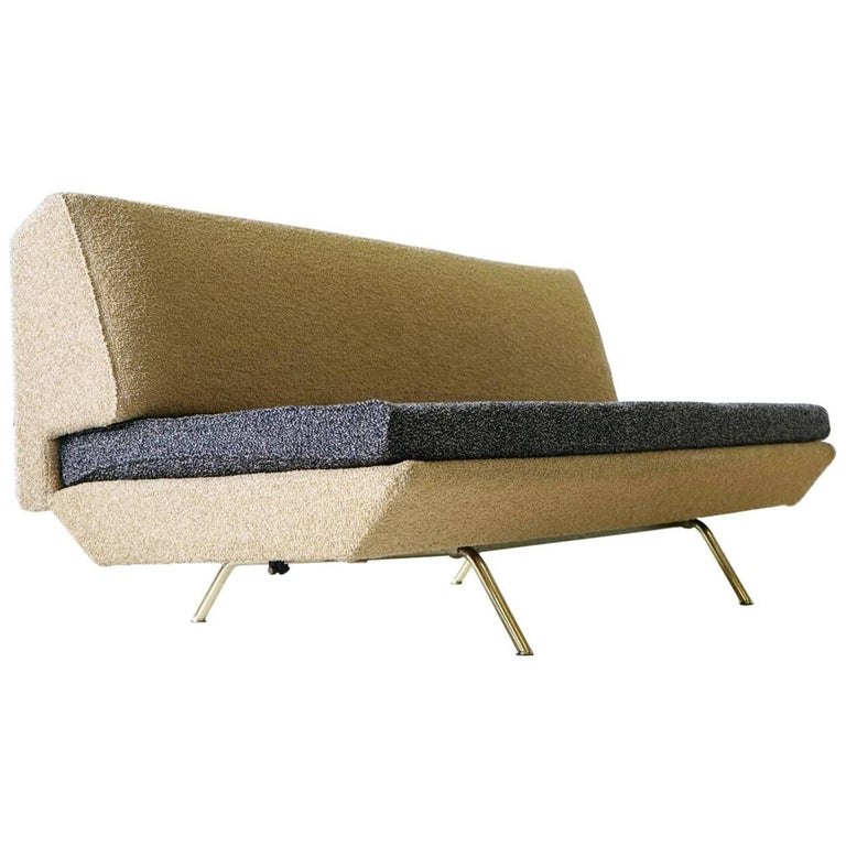 Arflex Sofa Canapé Daybed Sleep Bed Sofa by Marco Zanuso, Midcentury