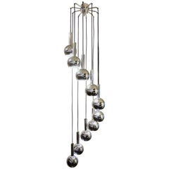 Cascade Chandelier from the 1970s