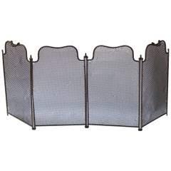 19th Century French Fireplace Screen