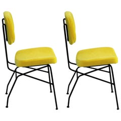 Set of Two Gastone Rinaldi Chairs, 1950s, Italy