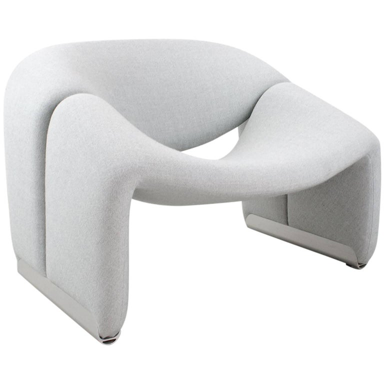 Lounge Chair Groovy F598 by Pierre Paulin for Artifort 1972 Dutch Design Classic