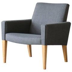 Hans Wegner AP31 AP Stolen Oak Easy Chair Danish Vintage, Mid-Century Modern