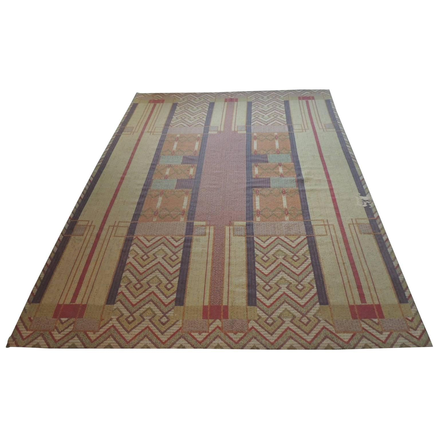 Frank Lloyd Wright Arts And Crafts Inspired Rug Made By Michaelian Kohlberg For At 1stdibs