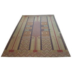 Frank Lloyd Wright Arts & Crafts Inspired Rug Made by Michaelian & Kohlberg