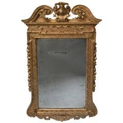 Period George II Giltwood Mirror, circa 1735