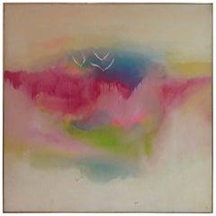 "Lamar Briggs ""Mountain Mist"" Oil on Canvas"