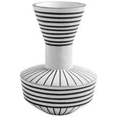 Palm Springs Urn Stoneware Vase