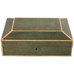 Small Decorative Memory Box with Key