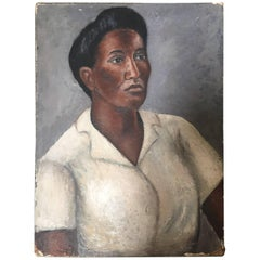 African American Woman by Miller