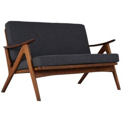 Danish Arne Hovmand Olsen Disign Loveseat
