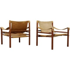 Arne Norell Easy Chairs Model Sirocco