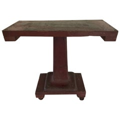 Industrial Steel Empire Style Console Table