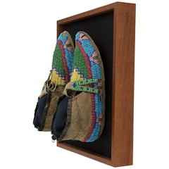 Native American Moccasins, Plains, 19th Century