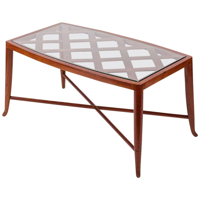 Rare Paolo Buffa Coffee Table, 1950