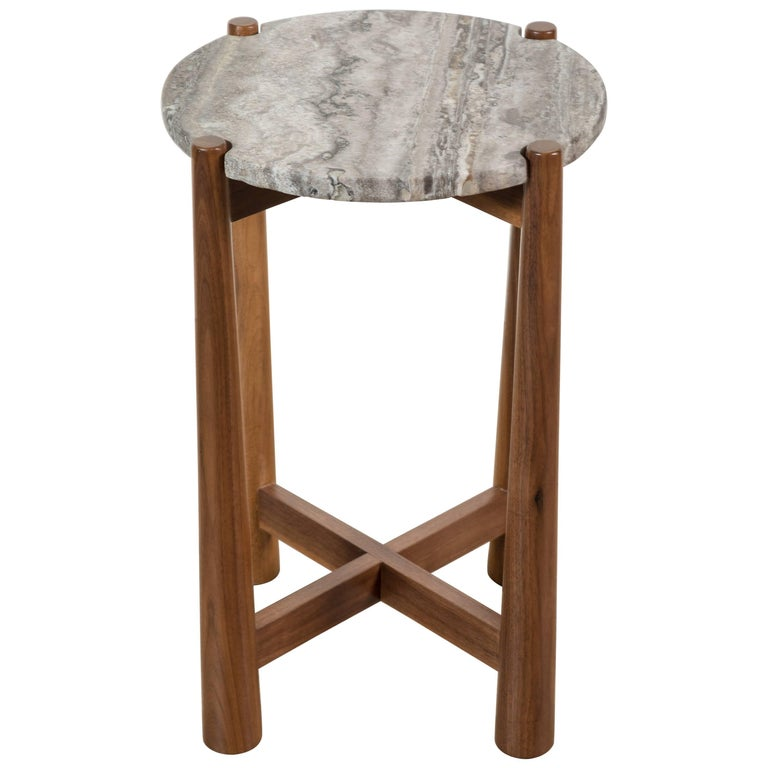 Bronson Drinks Table by Lawson-Fenning