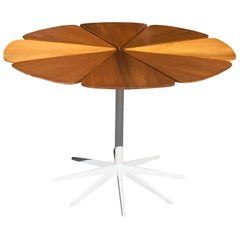 "Vintage Richard Schultz Redwood ""Petal"" Dining Table for Knoll"