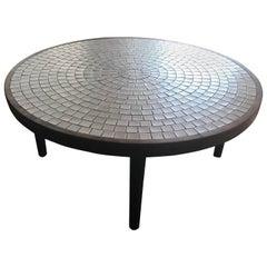 Jane and Gordon Martz Studio Round Tile Coffee Table