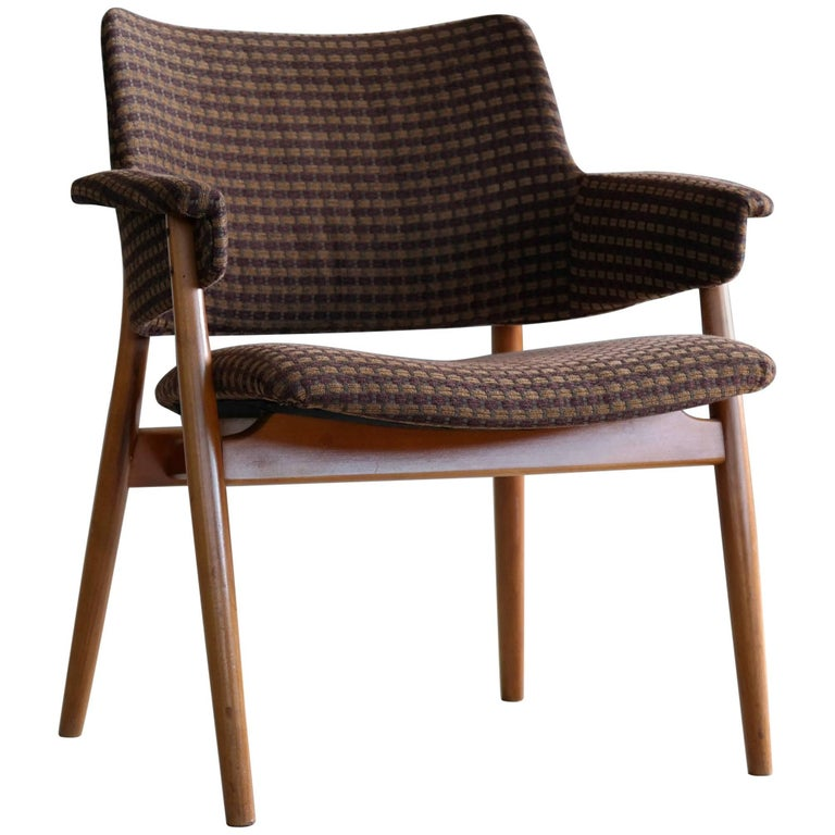 Hans Olsen Style Lounge or Accent Chair Danish, Midcentury