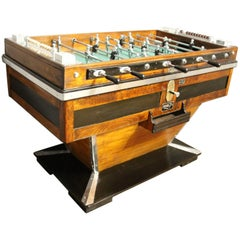 Midcentury French Café's Foosball Table