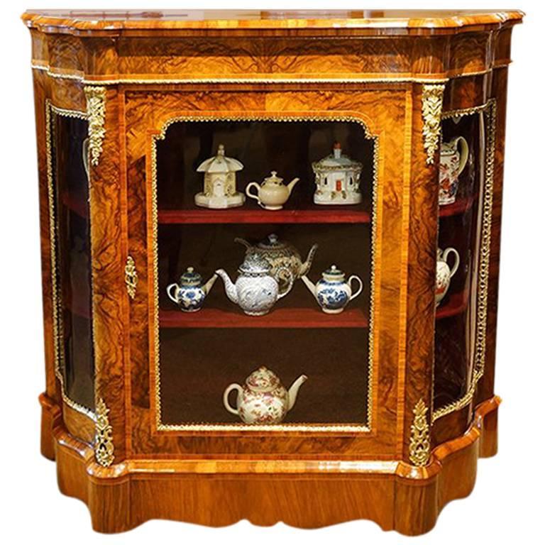 Victorian Walnut Side Cabinet